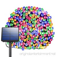Solar String Lights  Litom 100 LED Multi-color Decorative Lights Outdoor Lights with 8 Modes  Waterproof Ambiance Lighting for Patio  Lawn  Home  Wedding  Christmas Party  Thanksgiving  Black Friday - B01B2Q9TS4