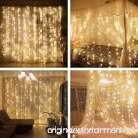 YULIANG Led Curtain Lights 300led 3m3m/9.8Ft9.8Ft Christmas Curtain String Fairy Lights for Home  Garden  Kitchen  Outdoor Wall  Party  Wedding  Window Decorations 110v Us Plug - B01I95U598
