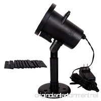12 Pattern LED Changeable Projector Spotlight Decorated Remote Control Included for Holiday Christmas Wedding Party - B079518VFZ