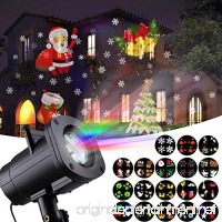 Christmas Light  GUGUNIAO LED Projector Light with 18 Switchable Patterns Waterproof Spotlight Night Light for Christmas  Indoor and Outdoor Party  Birthday  Holiday  Landscape  Decoration. - B077MPZ7CQ