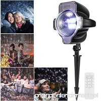 Christmas Projection Lights Magicfly Xmas Snowfall Projector LED light Waterproof Rotating Fairy Landscape LED lights with Remote Control for Christmas Party Patio Holiday Decorations - B076J4B9SX