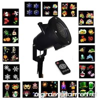 Dragon Hub LED Christmas Projector Light 16 Slides LED Landscape Projection Lights Outdoor Indoor for Christmas Easter Thanksgiving Birthday Party and Holiday Decoration with Remote Control Timing - B077FV7S67