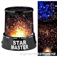 Kanical LED Starlight Projector Lamp Colorful Sky Star Romantic Starry Night Light for Kids Bedroom Home Decoration - B0788L34VN