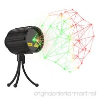 Laser Lights Christmas LED Projector Star Laser Shower with RF Remote Controller IP65 Waterproof Outdoor Indoor Green and Red Star Light for Xmas  Holiday  Party and Garden Decoration - B074H5ZYB9