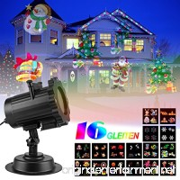 Led Garden Light Projector Projection Lamp Fairy Lights Show For Valentine's Day Holiday Party Landscape Stage Lighting 16 patterns Waterproof Indoor or outdoor Use (16 slides 2) - B076KYMC5C