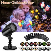 Led Projector Lights Waterproof 14 Moving Pattern Snowflake Star Holiday Shower Projector Outdoor Indoor Slides Show Projection Decoration Lighting for Xmas Birthday Wedding Party - B071GTPXR9