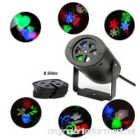 LUCKDAYL LED Rotating Rgb Logo Landscape Projector Stage Holiday Lighting for Christmas Valentine's Day Birthday Wedding Thanksgiving Halloween Party - B01HOQ3PUY