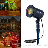 SOLLED Laser Christmas Lights 10 Modes Star Projector Lamp Waterproof Landscape Spotlight for Indoor Outdoor Patio/Garden/Yard Wall Light Decoration - B01NGT5ENK