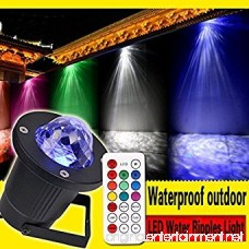 StarLight Outdoor Ripple Effect Light Projector with 7 Colors Remote Control - Light Decoration for Outside or Inside Your House for Holidays Parties Dances Etc. - B01MD0UL0I
