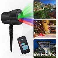 Uoune Outdoor Light Projector Christmas Light Show Red Green Blue Projector lamp Waterproof Firefly Projection Lights For Halloween Landscape Wedding  Birthday Party Home Garden Decoration - B0769W8FPM