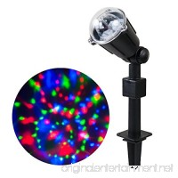 WED Rotating Kaleidoscope LED Projector Lights Waterproof Christmas Landscape Spotlight Projection LED Light Show for Indoor Outdoor Home Garden Wall Party Holiday Decoration - B01LQ1LHZS