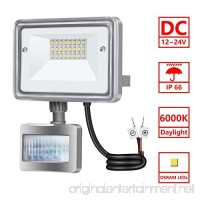 10W LED Flood Light  STASUN DC 12V-24V Motion Sensor Security Light  950LM (100W Equiv.)  6000K Daylight White  Waterproof  Great for Driveway Patio Garden Path - B076JCGT27
