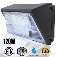 120W LED Wall Pack Light (Wall Pack Light 5000K Daylight) Waterproof Commercial/Industrial Outdoor Wall Pack Lighting 500~600W HPS/HID Bulb Replacement - B074M66FNR