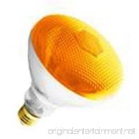 (6 Pack) 100BR38/AMBER - 100 Watt BR38 Amber Flood Light Bulb - B00G6T1TPO