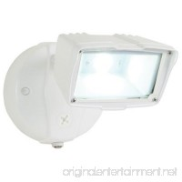 All-Pro FSS1530LPCW Dusk to Dawn Single Head Floodlight Small White - B00DJPMCI6