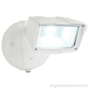All-Pro FSS1530LPCW Dusk to Dawn Single Head Floodlight Small White - B00DJPMCI6