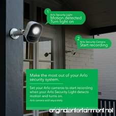 Arlo Smart Home Security Light. Wireless Weather Resistant Motion Sensor Indoor/Outdoor Multi-colored LED Works with Amazon Alexa | 2 Light Kit camera not included (ALS1102) - B078L1FZXS