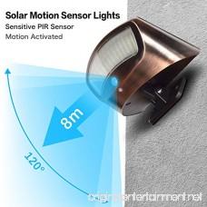 DBF Solar Lights Motion Sensor Super Bright Outdoor Solar Security Lights Motion Sensor Flood Light Waterproof With 4 Modes for Backyard Patio Deck Garden Driveway Outside Wall - B07CSKN4G9
