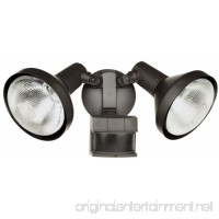 Heath Zenith HZ-5318-BZ Motion-Sensing Shielded Wide-Angle Twin Security Light  Bronze - B000KKLQ58
