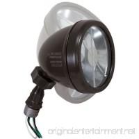 Hubbell-Bell LHS100Z Weatherproof Halogen Lampholder Includes 75-watt Bulb and Swivel Joint  Bronze - B00JTQX4O0