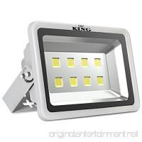 King 400W High Power LED Flood Light Daylight White 6500K Waterproof Outdoor lighting Spotlight Wall Garden Projector AC100-240V - B01MRZMDTD