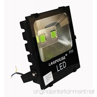 lagpousi 100W LED Flood Light Outdoor  IP66 Waterproof Lighting LED Spotlight  500W Equivalent  9000LM  green(500nm~560nm) Wall Lights  Energy Efficient Security Lighting - B075ZNQF7B