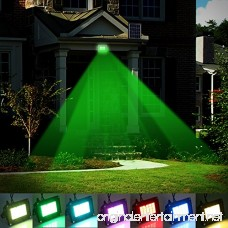 LED Solar Flood light T-SUN 20 LEDs RGB Color Changing Outdoor Security Wall Lights Waterproof Remote Controlled Solar Spotlight for Garden Patio Yard Pool Garage - B0735527T1