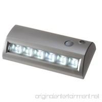 Light It! By Fulcrum 20032-301 Wireless Motion Sensor  Weatherproof Light 6.8 Inch  Silver - B008S8X5BC