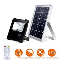 Solar LED Lights Remote Control  25 led Pool Light Waterproof Garden Solar Powered Flood Lights - B07DJ71PYD