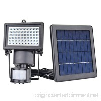 Solar Motion Sensor Security Light JPLSK 60Leds Outdoor Waterproof 3W Solar Powered Flood Light for Storage Shed Patio  Deck  Yard  Garden  Driveway - B07BP3Y1N5