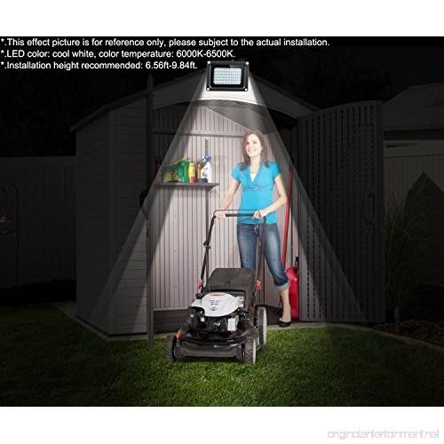 Solar Outdoor Lights 400 Lumens Outdoor Indoor Solar Flood
