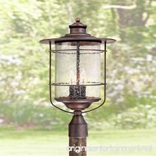 Casa Mirada 19 3/4 High Bronze 3-Light Outdoor Post Light - B004BL8V9Q