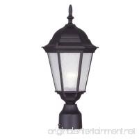 Livex Lighting 7558-07 Hamilton 1 Light Outdoor Post Head  Bronze - B005G6T13K