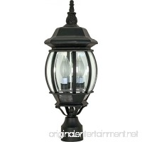 Nuvo Lighting 60/899 Three Light Post Lantern - B002MRDJO8