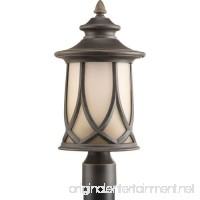 Progress Lighting P6404-122 Resort Collection 1-Light Post Lantern Aged Copper - B00757499Y