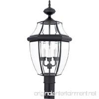 Quoizel NY9043K Newbury 3-Light Outdoor Lantern Mystic Black - B00383U07O