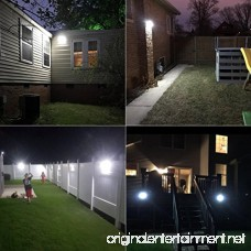 Solar Lights Outdoor Motion Senso 5W COB LED powered Wireless Waterproof Security Lights with 0.4W Back Night Light for Door Patio Deck Yard Garden Driveway Porch Stairs Outside Wall. (2-pack - B078HHWYR2