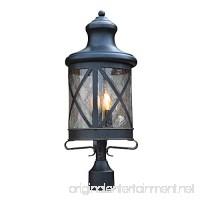 Y Decor EL5364MPORB Taysom 3 Post Light Outdoor Oil Rubbed Bronze - B07919PM6X