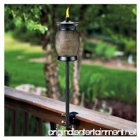 (4) ea Lamplight Farms / Tiki 1112155 4-In-1 Multi Use Citronella Patio Torches - B00KVNX35U