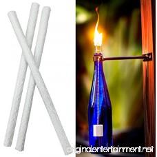 AlexGT Wine Bottle Tiki Wicks Fiberglass Wicks for Oil Lamps Fiberglass Replacement For Tiki Torch Wick - B07CNNLTWG