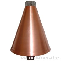 Burnaby Manufacturing Propane Tiki Torch Cone 3/4-Inch Copper Color - B00D17ODR0
