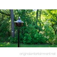 Dusq All-In-One Citronella Garden Torch Oil-Rubbed-Bronze - B0731RMSNM