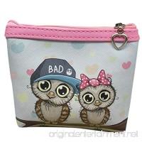 Hot Sale Coin Purse AmyDong Womens Owl Wallet Card Holder Coin Purse Clutch Handbag Key Holder Organizer - B07F6X8X3Z