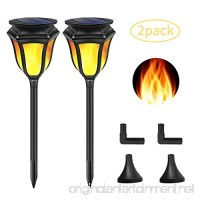 Lebote Solar Torch Lights 96 LED Solar lights Outdoor Dancing Flickering Flames Torches Lights Solar Pathway Lights Waterproof Wireless Landscape Lighting Lamp for Garden Yard Patio(2 Pack) - B07DLQJN23