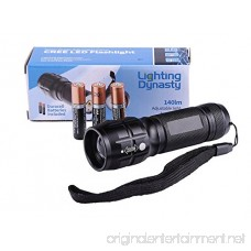 Lighting Dynasty Ld050 Cree Led Flashlight Super Bright Adjustable Focus Duracell Batteries Included - B00T6PNYGM