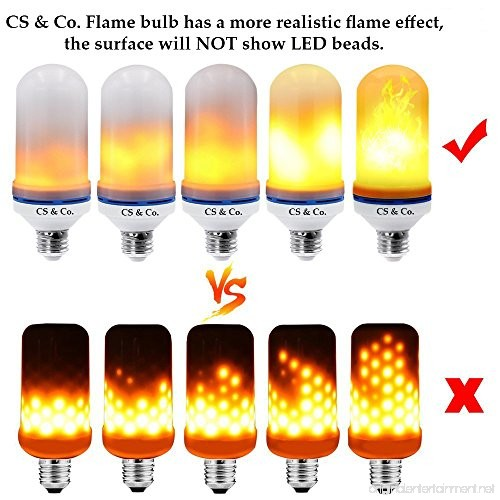 New 2018 Model Led Flame Bulb Light Bulbs Fire