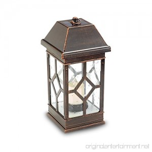 "Smart Solar Inc. 15"" Solar Powered Candle Lantern - B076TPZ2NV"