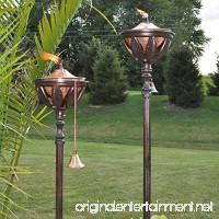 Starlite Garden And Patio Torche AKEX-FS-2300BRNZ Bali Bronze Patio Torches 61&Quot; Bronze/Copper - B00TIW9NT0