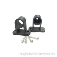 Tiki Torch Deck Mount - 3/4 Pole - 3 Sets - B071XVBKLX