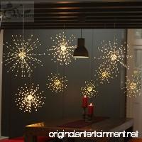[ 2-pack ] Dandelion String Lights  LED Fireworks Copper String Lights Bouquet Shape 100 LED Micro Lights For DIY Wedding Centerpiece Decoration  Party (WARM WHITE) - B07BVTQWHV